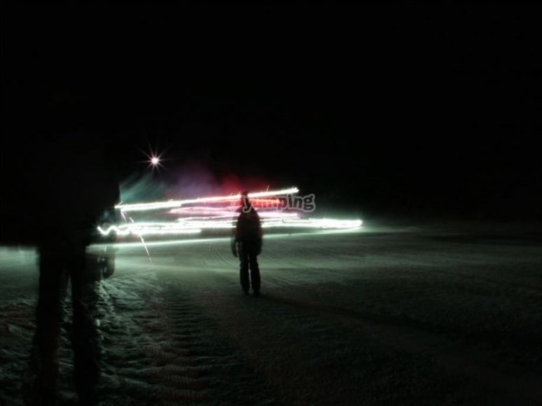 Di notte al buio