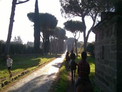 Passeggiata a cavallo a Castel Fusano di 1 ora