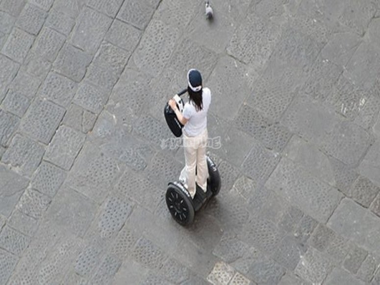 A Firenze in segway