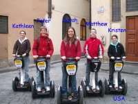 Vi portiamo in segway a Firenze