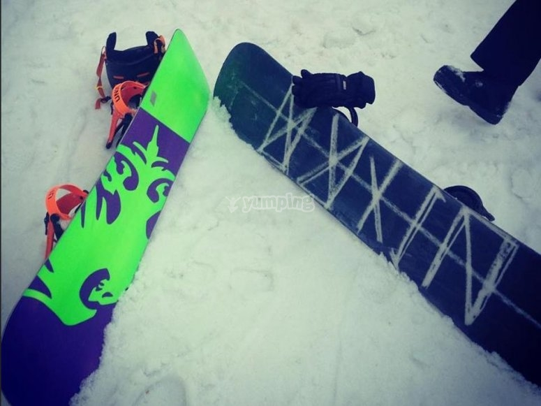 Two boards one passion