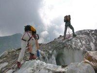 Gita sul ghiacciaio con le guide di Macugnaga