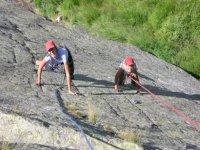 Corso alpinismo arrampicata per ragazzi
