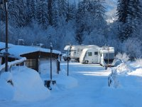 campeggio d'inverno