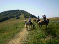 Viaggio a cavallo di 7 giorni