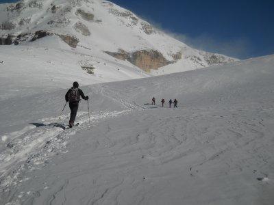 Sabato di scialpinismo sulle Dolomiti