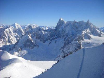 Due giorni Freeride estremo sul Monte Bianco