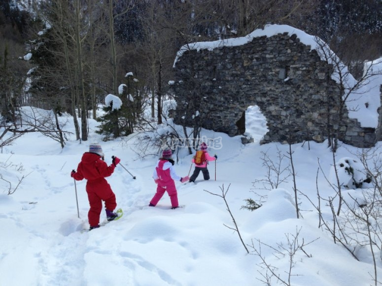 Ciaspole e cultura alpina
