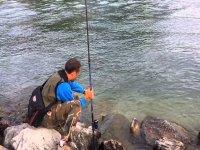 Durante la pesca