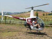 Voli turistici in elicottero sul Conero