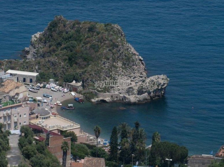 Diving in Taormina