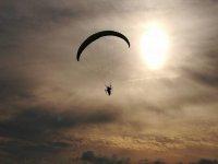 Paramotore in cielo
