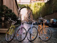 Tour in biciclette vintage a Roma