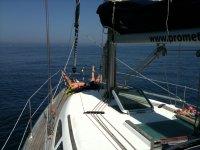 La punta della barca