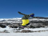 Impara a saltare con lo snow