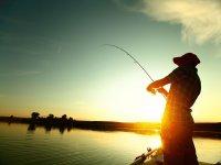 Fishing tramonto