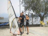 Si pratica sulla spiaggia