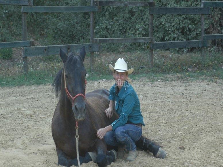 confidenza con il cavalli