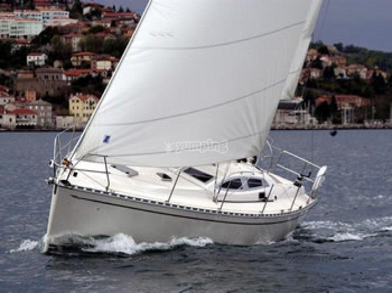 Navigare a vela in Sicilia