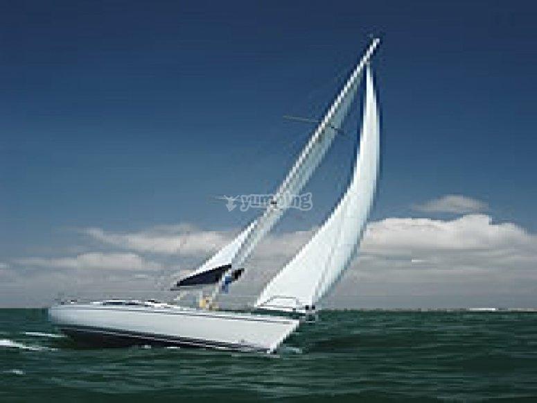 Boating on Delphia 37