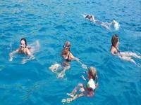 Excursion en bateau à Baia dei Turchi