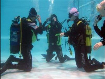 Primo approccio subacquea Discover Scuba Diving