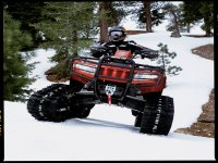 the best Quad bikes to give you an experience even on snow