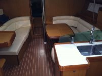 Gli interni della nostra barca