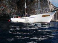 La barca per le immersioni
