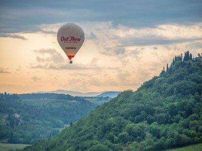 Esperienza in mongolfiera piccoli gruppi, Toscana