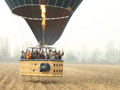 Esperienza di volo in mongolfiera, Lazio
