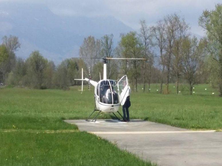 Elicottero biposto