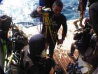 Prepararsi all immersione