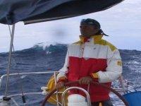 Accompanied by the skipper