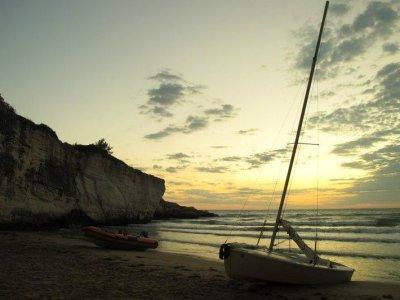 Campeggio nautico libero su catamarani Vieste 10gg
