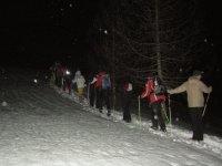 Racchette da neve serali