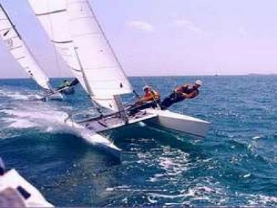 Lezioni individuali vela e catamatano Vieste