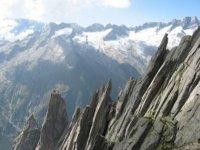 Le pareti di roccia delle Dolomiti