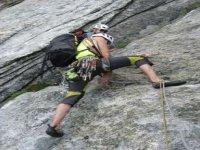Corsi di arrampicata e roccia