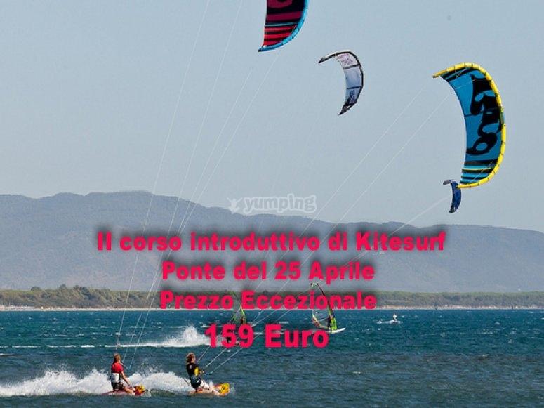 kitesurf corsi di kitesurf