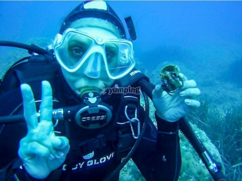 Inizio preparazione subacquea