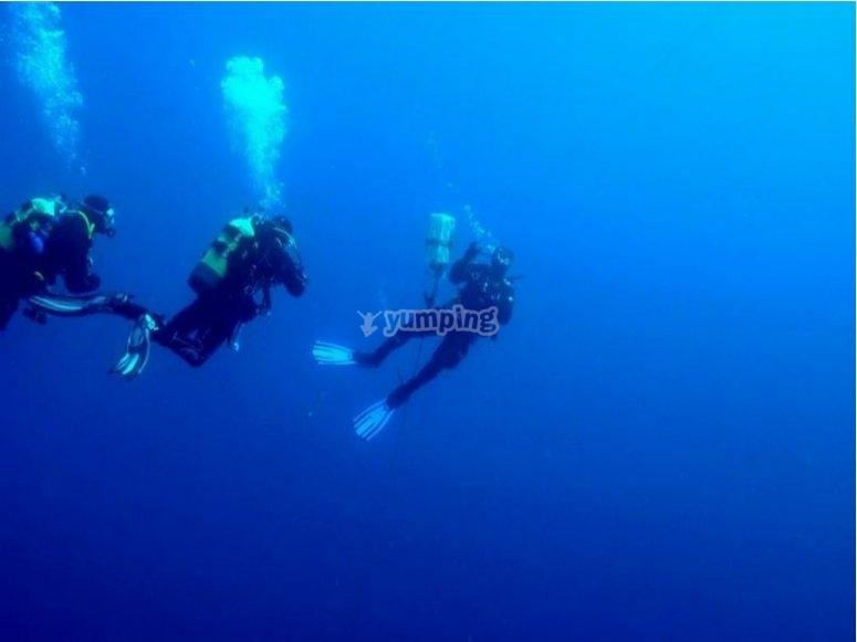Prove di immersione