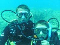 Durante l'immersione