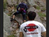 Climbing cliffs in Sicily