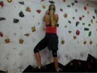 Indoor climbing exercises in Sicily