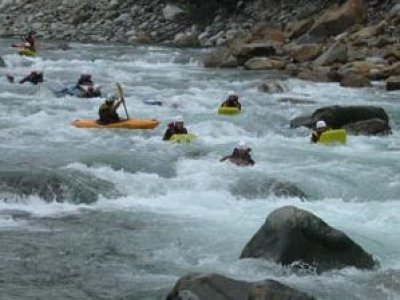 Rafting Morgex e Val Sesia Hydrospeed