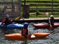Corsi di canoa e kayak per bambini