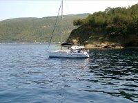 Barca a vela in Toscana