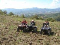 In giro con i quad