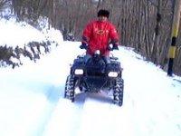 Quad sulla neve